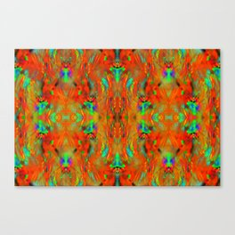 Firewall pattern ... Canvas Print