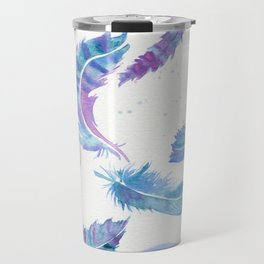Magic Feathers  Travel Mug