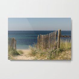 Path to beach Metal Print