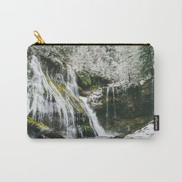 Snowy Panther Creek Carry-All Pouch