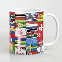 Sketchy World Flags Coffee Mug