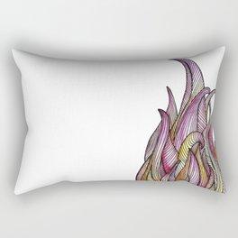 Flames & Lines Bis Rectangular Pillow