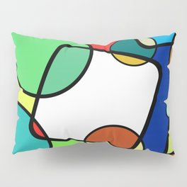 Shapes And Shades Pillow Sham