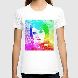The King Pop Art By Annie Zeno  T-shirt