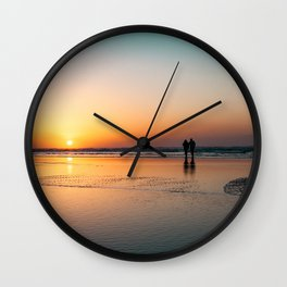 Loving Sunrise Wall Clock