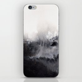 Watercolor abstract landscape 16 iPhone Skin