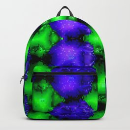 Armee of blue little bugs ... Backpack