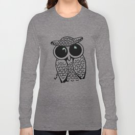 Big Eyed Owl Long Sleeve T-shirt