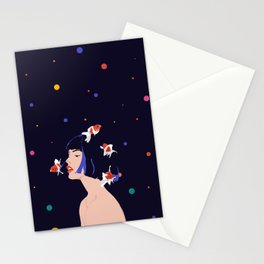 Too many thoughts Stationery Cards