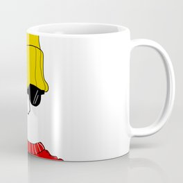 The Yellow Beanie Coffee Mug