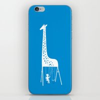 ilovedoodle iPhone & iPod Skins featuring My playground by I Love Doodle