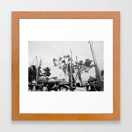 Nyepi Framed Art Print