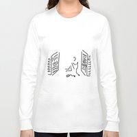 engineer Long Sleeve T-shirts featuring administrator server engineer system by Lineamentum