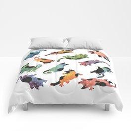 12 cats Comforters