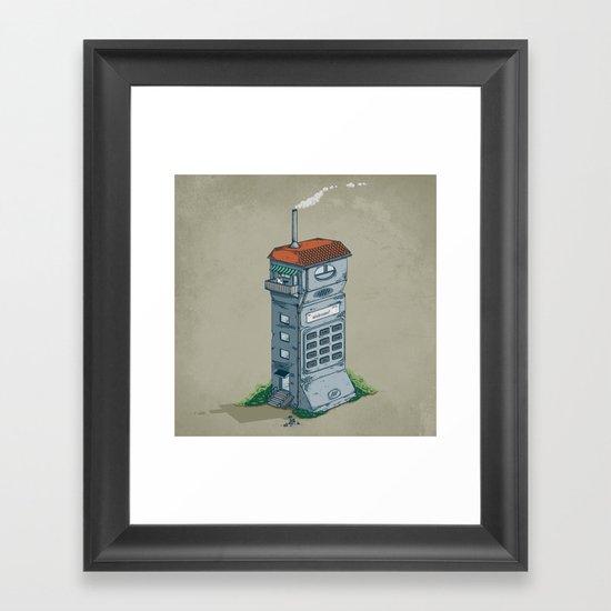 Cordless Home Framed Art Print