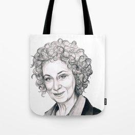 Margaret Atwood Tote Bag