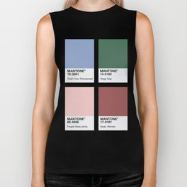 MANTONE® Colour Palette Biker Tank