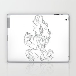 Steampunk Lady Laptop & iPad Skin