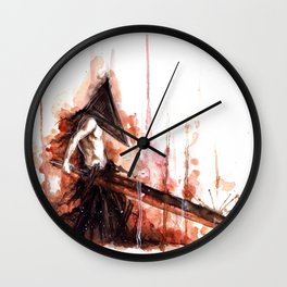 pyramid head Wall Clock