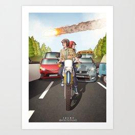 Fitzsimmons - Disaster Movie Art Print