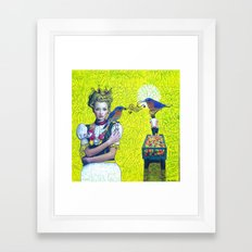 Mangifera indica Framed Art Print