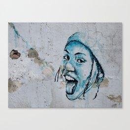 SONJA - urban ART Canvas Print
