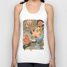 A Shattered Mind  Unisex Tank Top