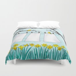 spring clean Duvet Cover