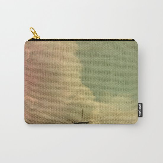 Once Upon a Time a Little Boat Carry-All Pouch