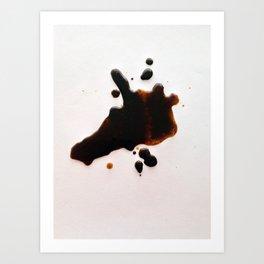 Coffeeania Art Print