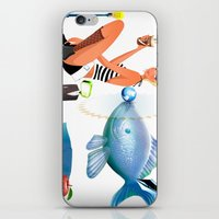 surrealism iPhone & iPod Skins featuring Surrealism by amanvel