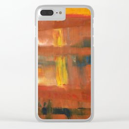 We wade through ignorance Clear iPhone Case