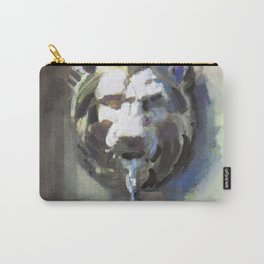 Lionhead Fountain Carry-All Pouch