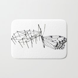 butterfly effect TWO Bath Mat