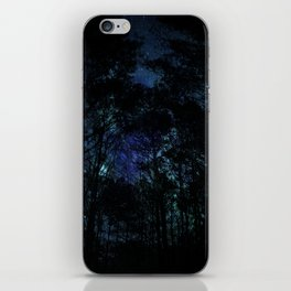 Galaxy Forest iPhone Skin