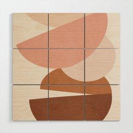 Abstract Stack II Wood Wall Art