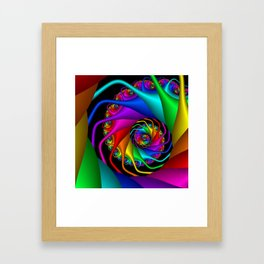 life is colorful -9- Framed Art Print