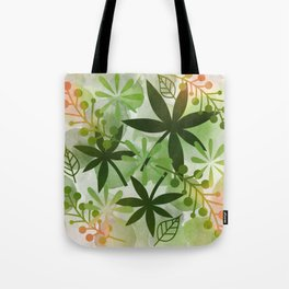 Peaches and Greens Tote Bag