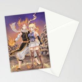 NaLu Unision Raid Stationery Cards