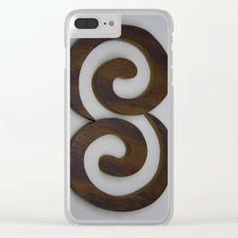 twin harmony Clear iPhone Case