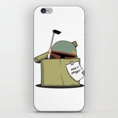 Boba Fett BOX iPhone & iPod Skin