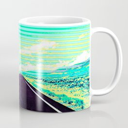 Road Trip Straight Ahead Coffee Mug