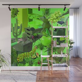 How I Improved My Green Things In One Easy Lesson Wall Mural