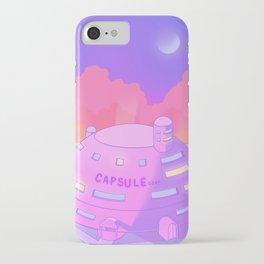 Pastel Capsule Corp iPhone Case