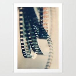 super 8 film Art Print