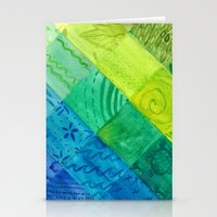 bali Stationery Cards featuring Bali Quilt by Catherine Holcombe