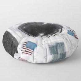 space selfie Floor Pillow