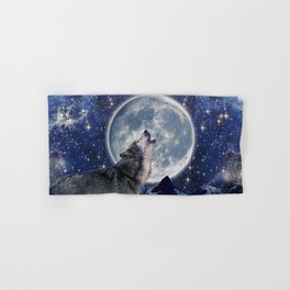 A One Wolf Moon Hand & Bath Towel
