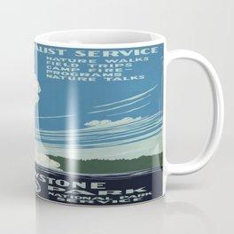 Vintage poster - Yellowstone Coffee Mug
