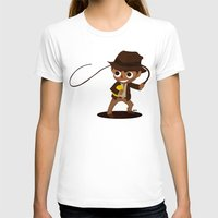 indiana jones T-shirts featuring Indiana Jones by Delucienne Maekerr